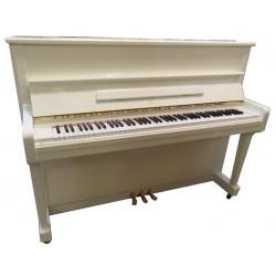 Piano Droit BOSTON UP 118 E Blanc brillant