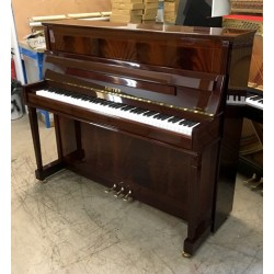 Piano Droit SAUTER 120 R2 acajou pyramidal Brillant