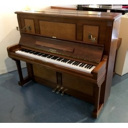 Piano Droit occasion SAMICK SU-127 Noyer satiné