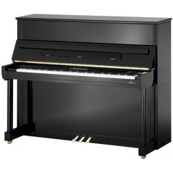 PIANO DROIT NEUF C.BECHSTEIN Classic 124  Noir Poli