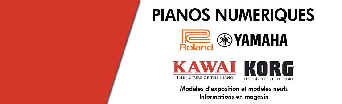 Destockage pianos numériques